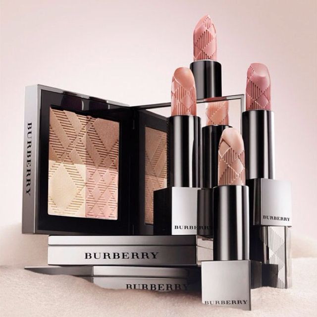 Burberry makeup products as if I wasn't obsessed enough already