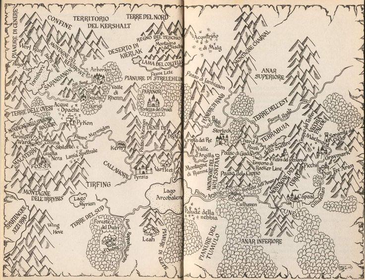 elfstones of shannara map