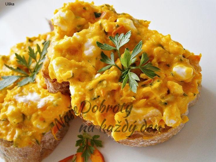 Recept Hokkaido pomazánka se sýrem Cottage, autor: Uška.