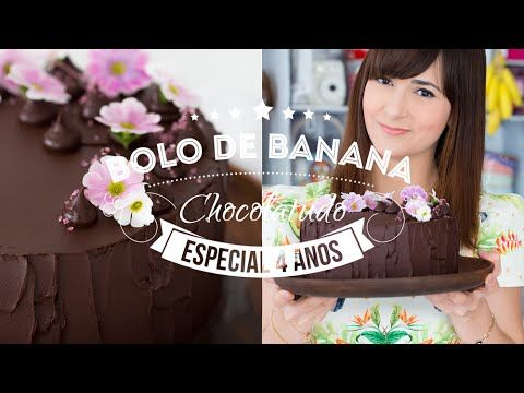 BOLO DE BANANA CHOCOLATUDO   120 #ICKFD Dani Noce - YouTube
