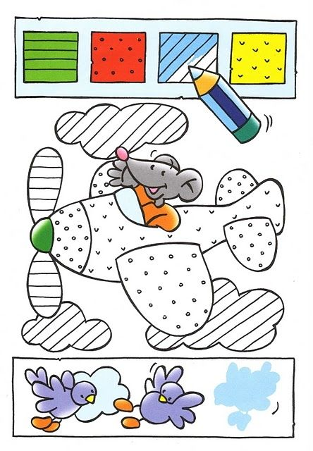 212 best color by number images on Pinterest | Animal coloring pages ...
