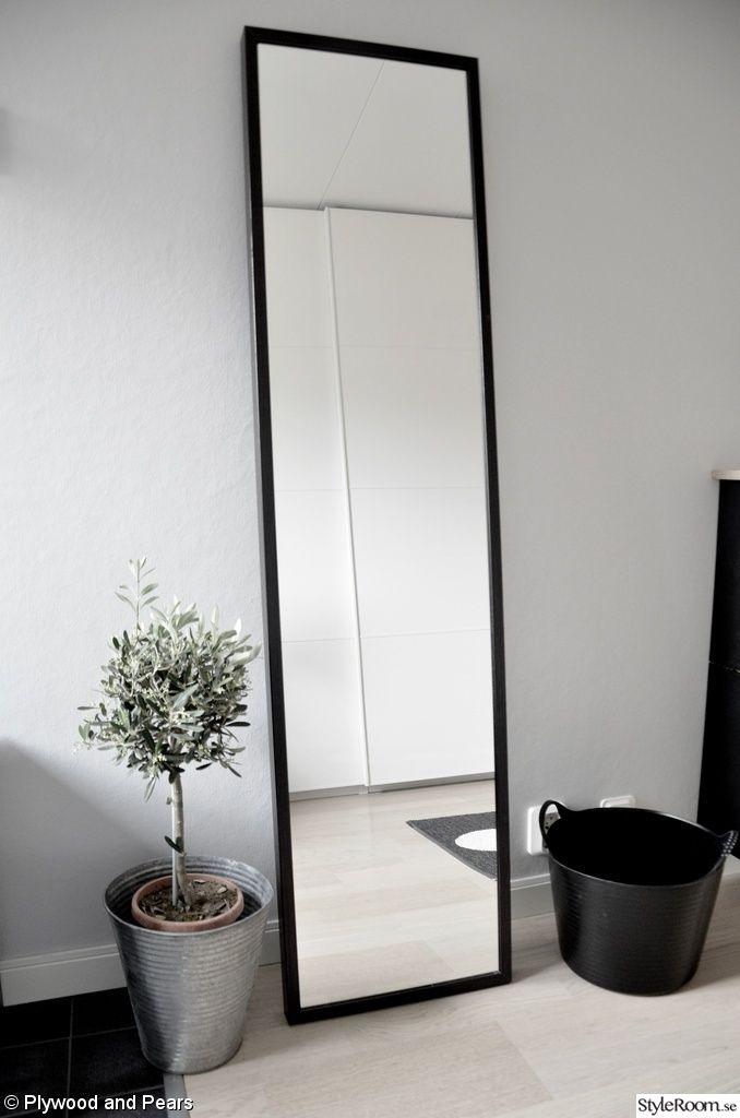 stave spegel,olivträd,zinkkruka