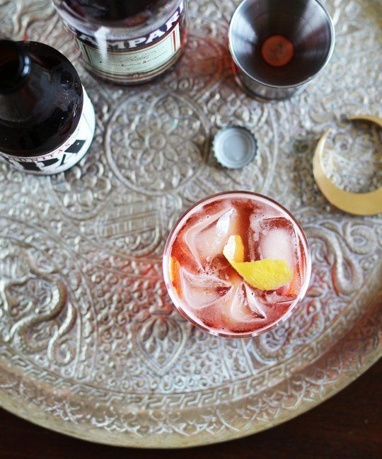The Campari Mint Spritz Recipes — Dishmaps