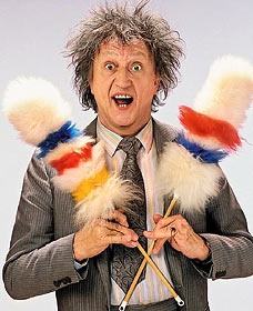Ken Dodd.... and his tickling stick! Ken Dodd and the Diddy Men!.... mad but very funny!