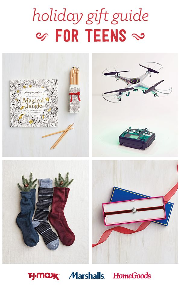 gift your teens will love this holiday at T Maxx  Marshalls and  HomeGoods  We re here to help you find the perfect presents at merry little  prices. 33 best Your guide to giving joy images on Pinterest   Christmas