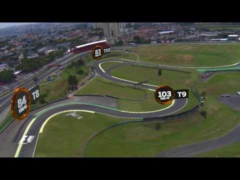 A Bird's Eye View Of The Autodromo Jose Carlos Pace   Brazil Grand Prix ...