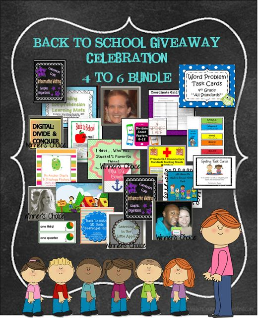 HUGE Gr. 4 to 6 Bundle of teaching resources in my blog's giveaway!