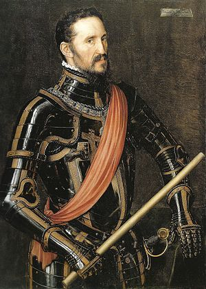 "Don Fernando Álvarez de Toledo, Duke of Alba ""The Iron Duke"" Governor of the Spanish Netherlands (1567–1573)."