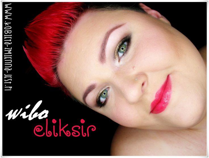 wibo eliksir nawilżająca pomadka 08 opinia recenzja review swatche blog makeupblog beautyblog makijaż dzienny