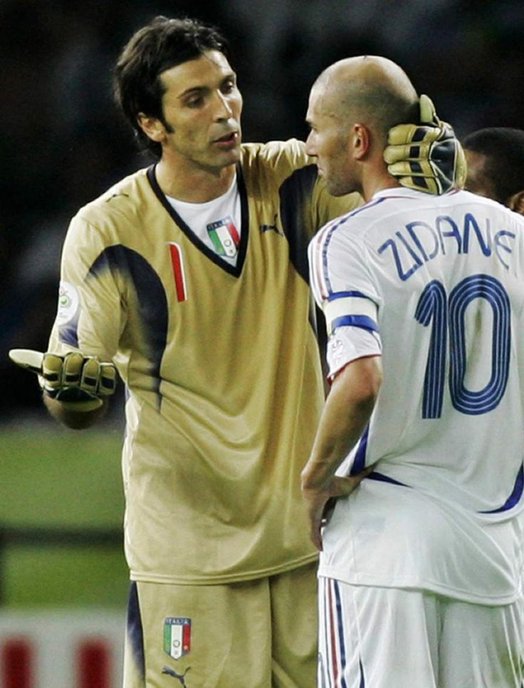 Buffon e Zidane | WC06