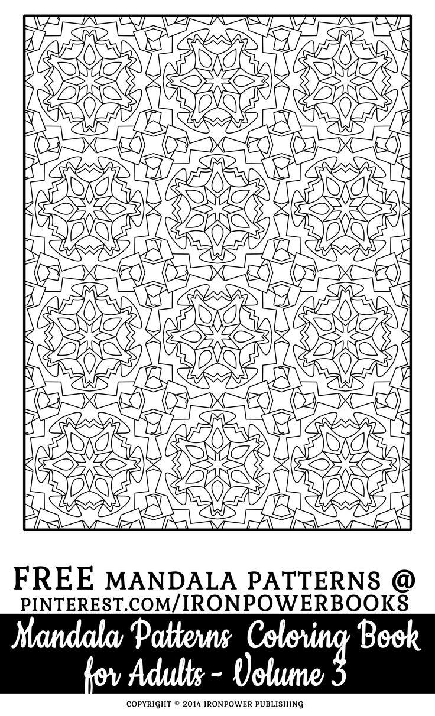 284 best pattern coloring pages images on pinterest mandalas