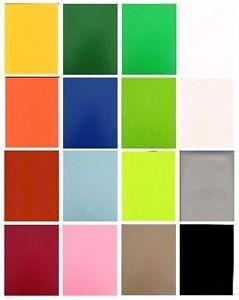 Wachstuch Tischdecke Meterware UNI einfarbig abwaschbar eckig unifarben gerollt
