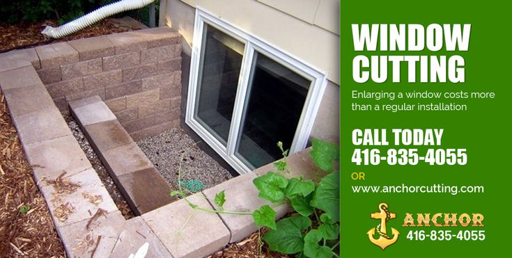We cut windows and doors through basement walls or any opening through existing concrete structures. So visit at anchorcutting.COM for better solution. Call for a free estimate :- 416-835-4055 visit:- http://www.anchorcutting.com/window-cutting-services.html #Windowcutting #Windowcuttingservices