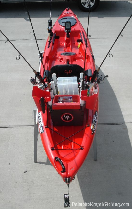 1000 images about kayaks canoes and sups on pinterest for Bass fly fishing setup