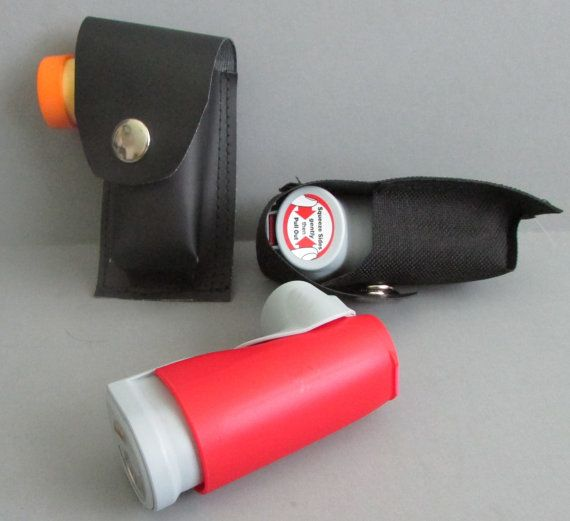 INHALER CASE with Belt Loop for albuterol or by ANYTHINGUNUSUAL