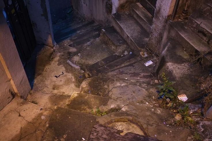 하월 @etudes6 / 골목길11. 여섯 갈래 길과 다섯 개의 문 / #골목 #길 #비탈 #계단 / 2014 01 25 /