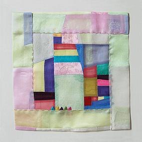 korean textile artist won ju seo...love the colors....
