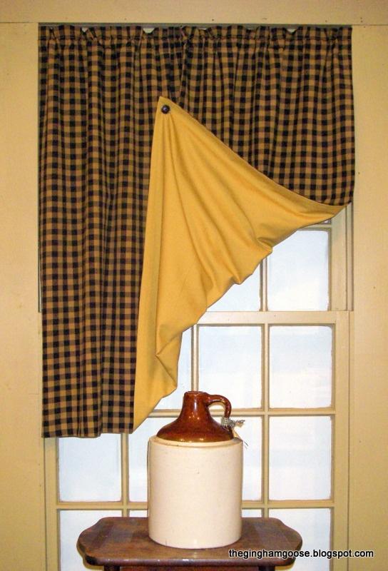 Farmhouse Kitchen Window Curtains