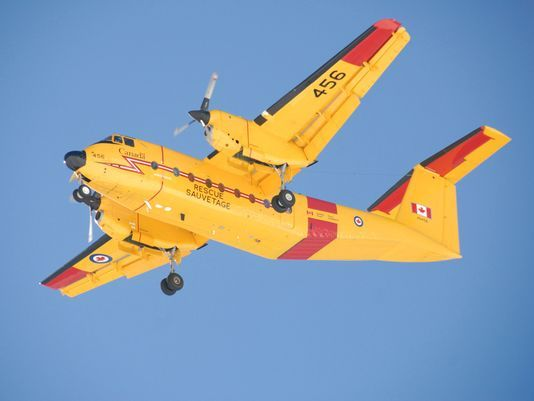 SAREX COMOX 2007. A CC-115 Buffalo flies during an exercise. Canada has been trying to acquire new search-and-rescue planes. (Photo: Sgt Blair Mehan/Canadian Air Force)