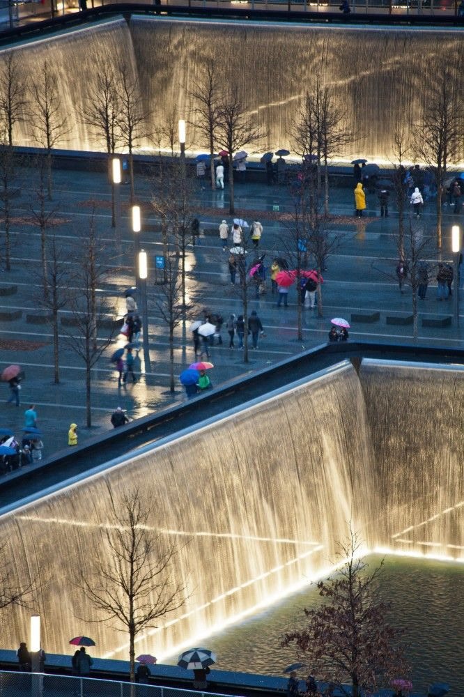 National September 11 Memorial / Handel Architects with Peter Walker Always inspirational