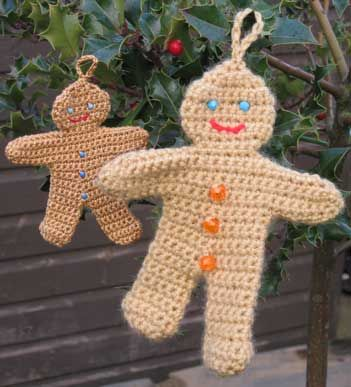 Ginger Bread Man Free Crochet Pattern. Knit.Crochet - Christmas and?