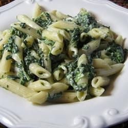 Spinach Alfredo Sauce (Better than Olive Garden(R))