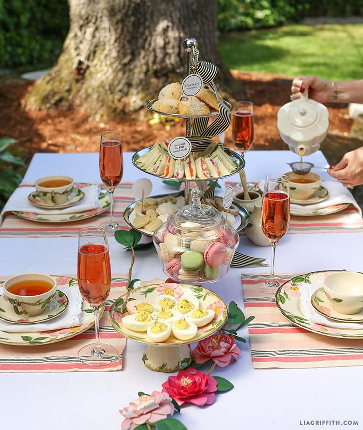 English Tea Party Decorations: Best 25+ Tea Party Menu Ideas On Pinterest