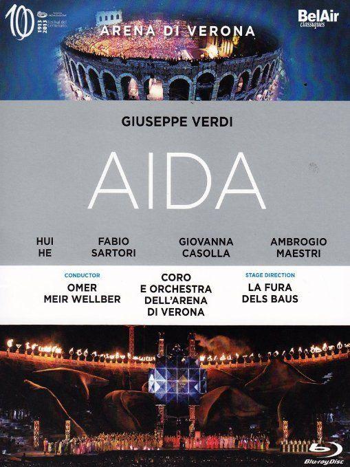 "opera ""Aida"" by Omer Meir Wellber in Arena di Verona"