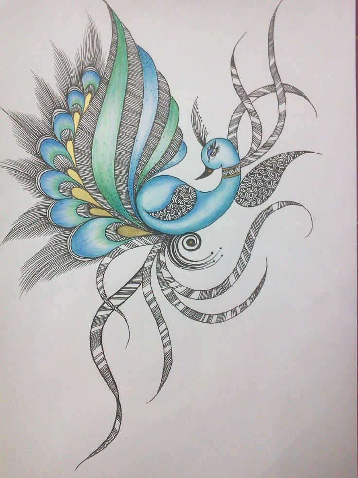 Abstract peacock ii my henna designs pinterest for Ink craft tattoo