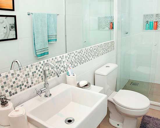 17 melhores ideias sobre Azulejo Para Banheiro no Pinterest  Adesivo para az -> Decoracao De Banheiro Piso E Azulejo