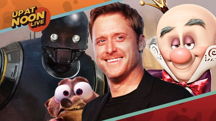 Alan Tudyk Talks Star Wars Droid Drama, Wreck-It Ralph 2 and Con Man - Up At Noon Live! - http://gamesitereviews.com/alan-tudyk-talks-star-wars-droid-drama-wreck-it-ralph-2-and-con-man-up-at-noon-live/