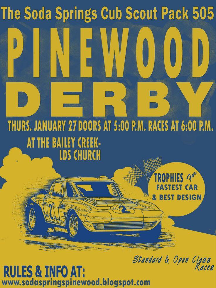 Mejores 38 imágenes de Cub Scout pinewood derby en Pinterest ...