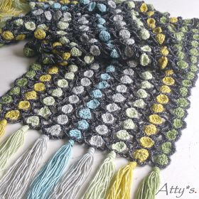 Crochet Candy Scarf Pattern - must make one of these.