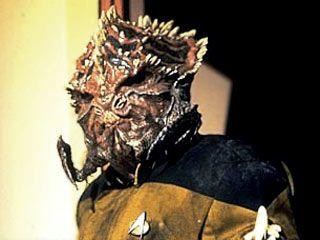 Worf as prehistoric Klingon in Genesis. | Star Trek - TNG ...