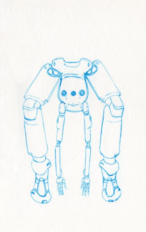 Challenge Day 183 Year 3  Muji Light Blue 0.3mm nib pen on Studio Sketchbook.  Daily Character Design Challenge, 2017-11-24 Year 3 - No183b, by Jeff Stewart #robot #droid #365_day_challenge #oc #conceptart #CharacterDesign #CharacterChallenge #original_character #character_art #concept #challenge #drawing #sketch #line_art #lineart #line_drawing #linedrawing #art #artist #artists_on_tumblr #sci_fi #scifi #character_design #concept_art #character_challenge