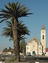 Namibia, Swakopmund, german colonial coastal resort town