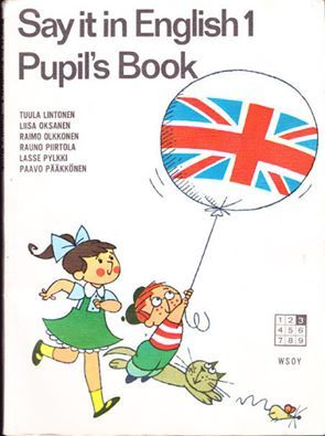 English  book - I so remember this - the boy was Bill and they had a dog named Spot!