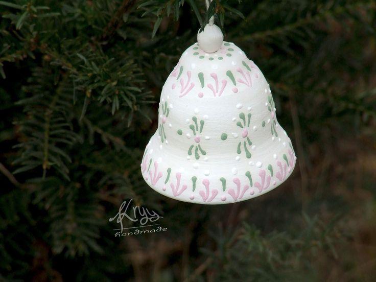 christmas bell #pottery karácsonyi csengő