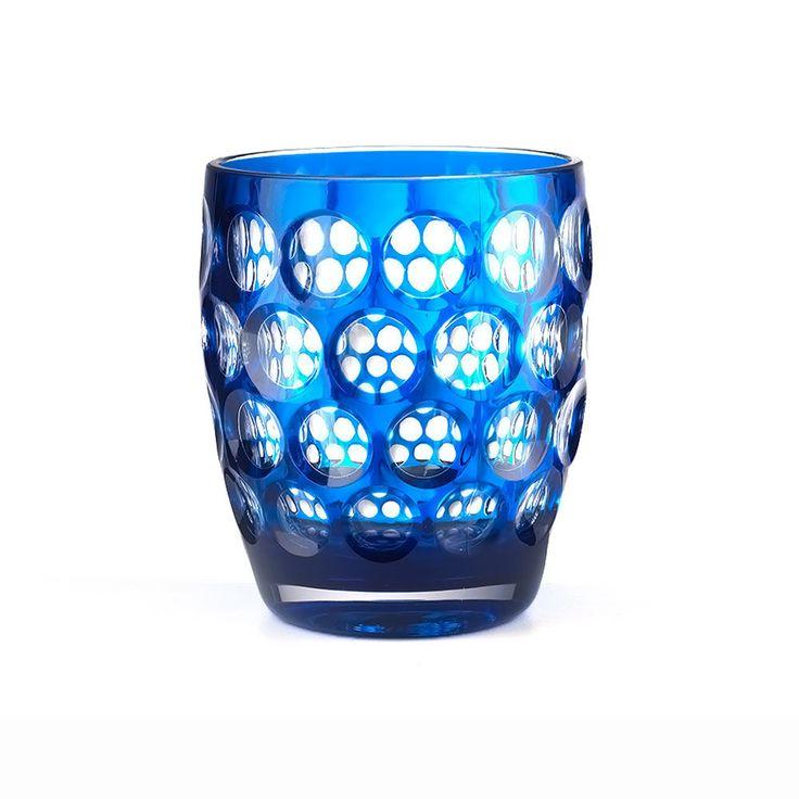 top3 by design - Mario Luca Giusti - tumbler lente short royal blue