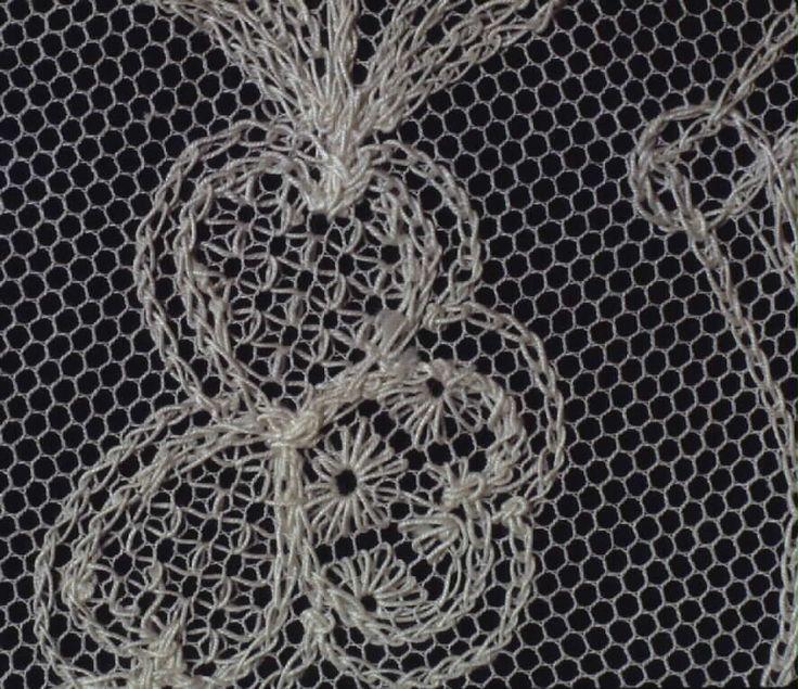 Mostly chain stitch