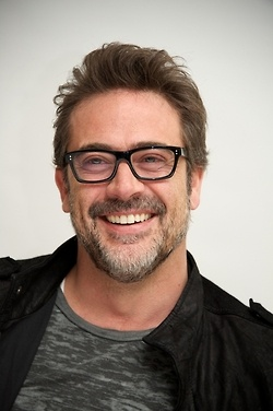 Salt and pepper: Check. Nerd glasses: Check. Gorgeous smile: Check. Leather jacket: Check. Drawls while talking: Check <3