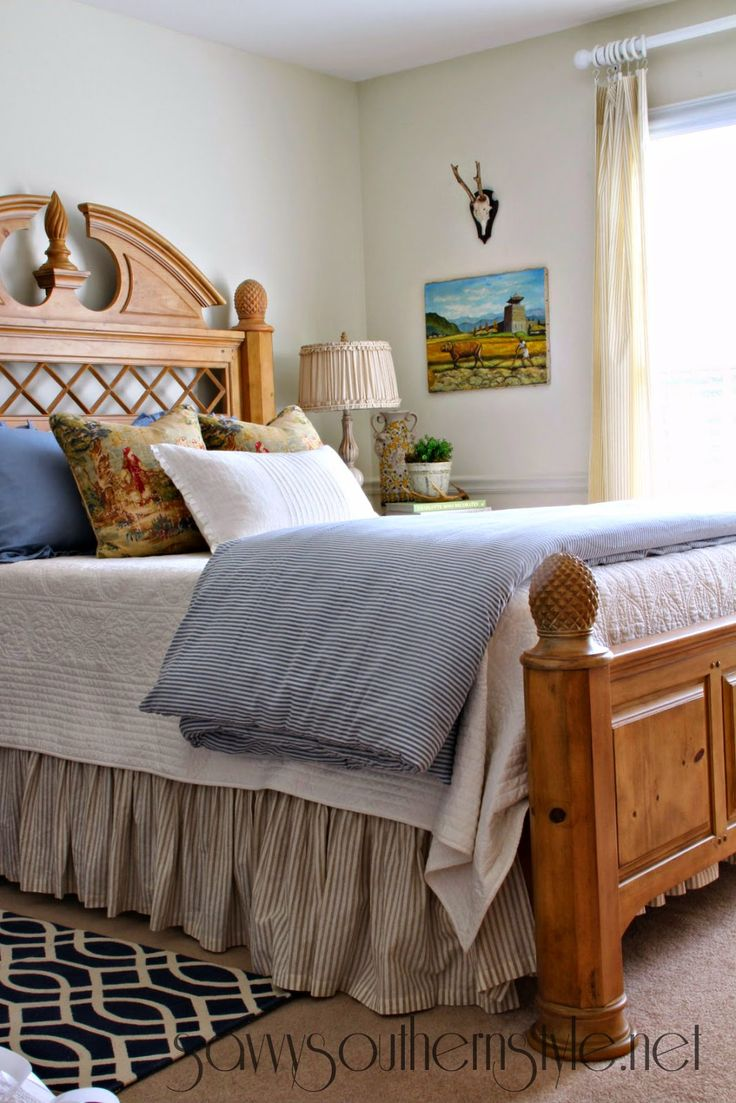 17 best images about guest rooms on pinterest painted for Southern style bedroom