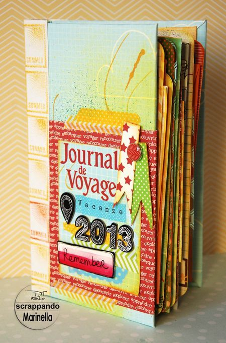 Scrapper eccezionale!!!!!!!!!!!!!Journal de Voyage Marinella