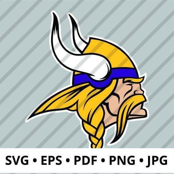 Minnesota Vikings Logo Layered Svg Nfl Logo Perfect For Diy Crafts Digital Download Includes Svg Eps Pdf Png Jpg1138508 Minnesota Vikings Logo Nfl Logo Viking Logo