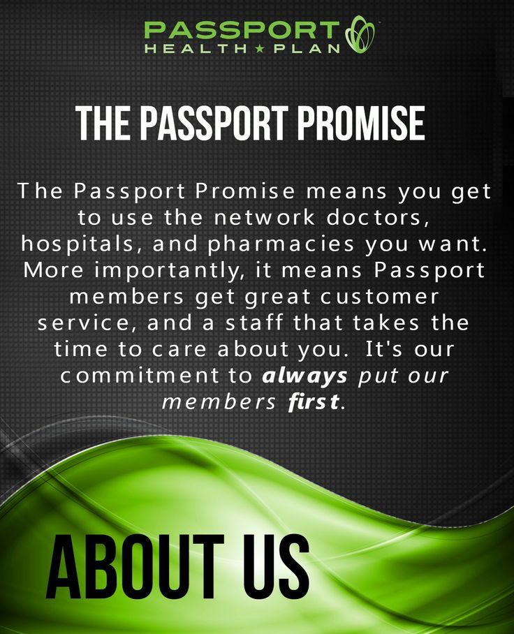 The Passport Promise....