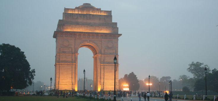 India Gate, New Dehli, India.