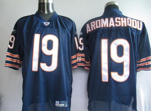 $25.00   Reebok NFL Jersey Chicago Bears Devin Aromashodu #19 Blue