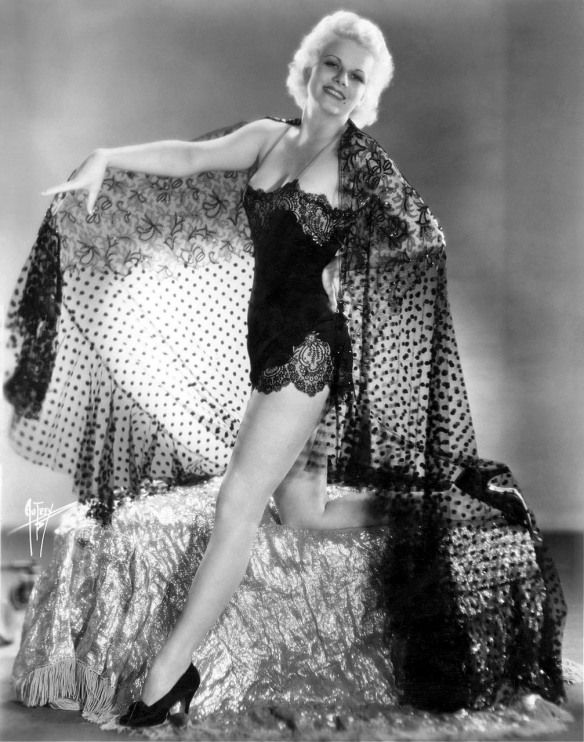 Jean Harlow in a negligeeBlack Lace, A Mini-Saia Jeans, Hollywood Glamour, Art Photography, Vintage, Beautiful, Jean Harlow, Jeanharlow, Jeans Harlow