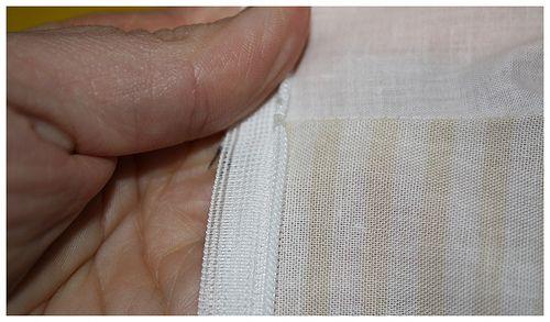 Blinde rits en voering zonder één steekje met de hand te naaien  @spiegelstiksels