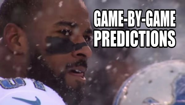 Detroit Lions 2015: Game by game predictions